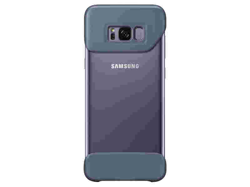 Galaxy S8+ Two Piece Cover, Orchid Grey