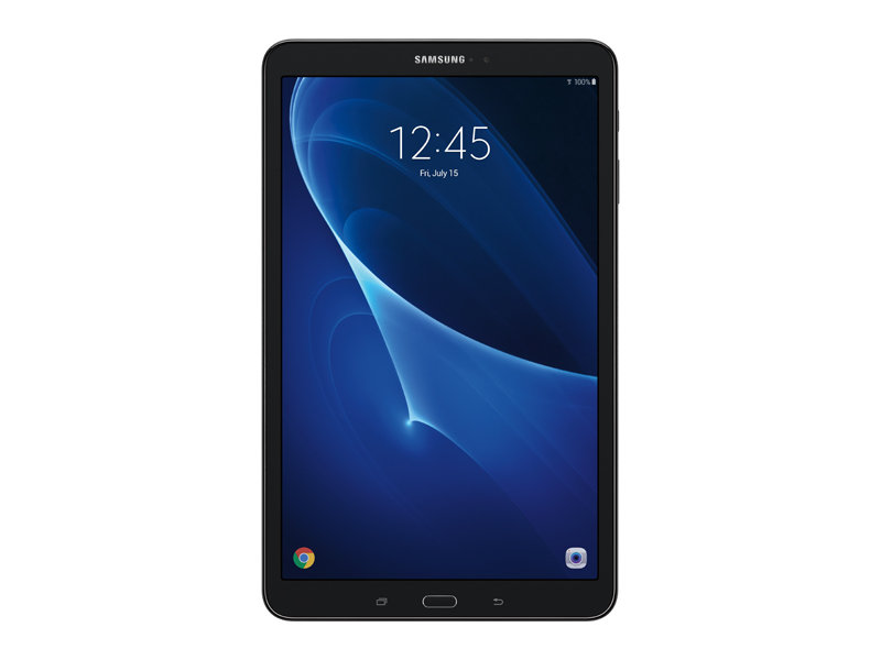 galaxy tab a 10 1 16gb wi fi black tablets sm t580nzkaxar samsung us. Black Bedroom Furniture Sets. Home Design Ideas