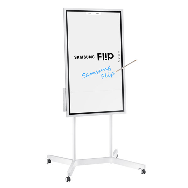wm55h flip 55 digital flipchart interactive display samsung business