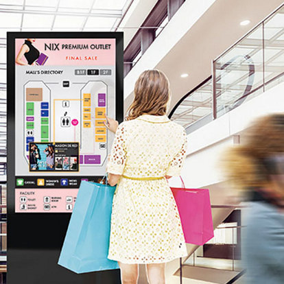 Digital signage commercial digital signage displays samsung business effective touch interactions and serve a variety of industries from restaurant menus and in store product locators to maps and museum installations fandeluxe Choice Image