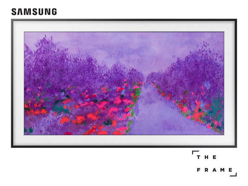55 Class The Frame Premium 4k Uhd Tv Un55ls03nafxza Samsung Us