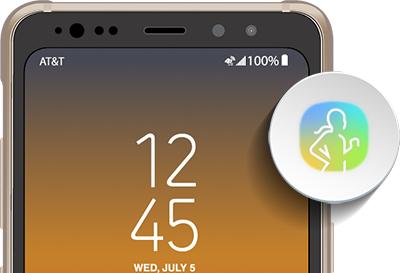 Samsung Health App On Galaxy S8 Active