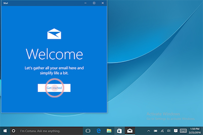how to set up hotmail for mail app