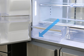 Remove Bins And Drawers From Your Refrigerator