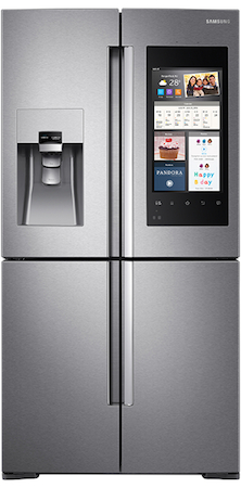 Clean The Outside Of Your Family Hub Refrigerator