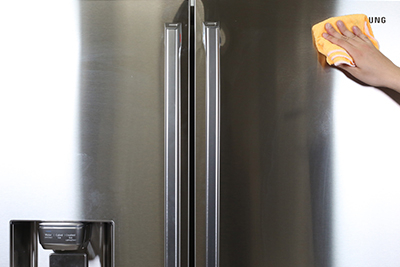 Cleaning The Stainless Steel On Your French Door Refrigerator