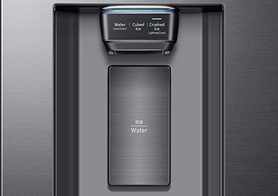 Use The Water U0026 Ice Dispenser On Your French Door Refrigerator