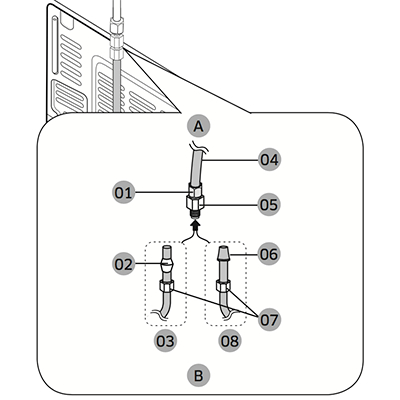 Parts For Ge Pss25sgnabs moreover Refrigerator Water Supply Valve as well Ge Ice Maker Wiring Diagram also Kenmore Oven Fuse Location together with Whirlpool Ice Maker Wiring Harness. on ge refrigerator parts diagram ice maker
