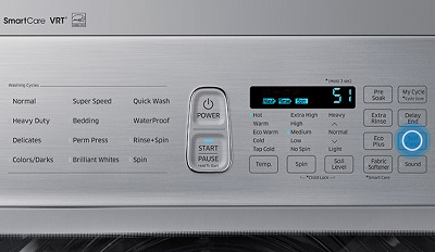 samsung washer how to self clean