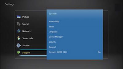 Updating samsung blu ray player firmware