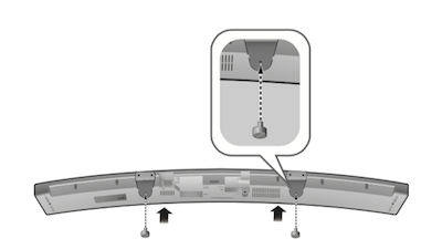Mounting The Soundbar