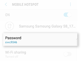 how to use samsung s6 mobile hotspot