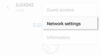 Manage Network Settings on Connect Home
