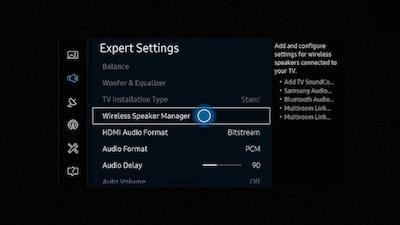 how to connect soundbar to samsung tv using hdmi