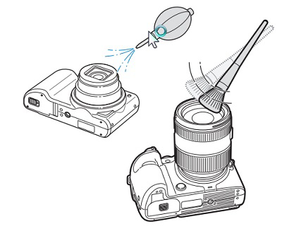Cleaning the Lens on Your Samsung Digital Camera