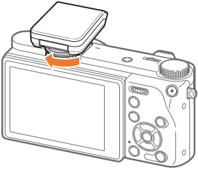 Connecting the External Flash to Your Samsung NX500 Camera