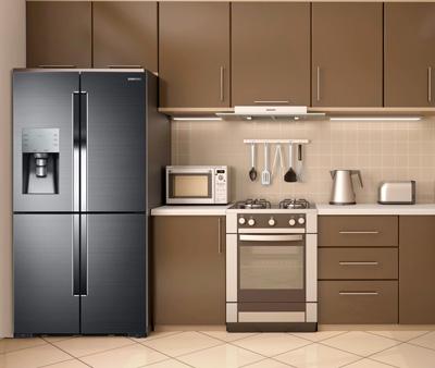 The refrigerator and freezer doors on the Energy Star® Qualified LG 15 cu. ft. Bottom Freezer Refrigerator, Model # LBNCV feature Vertical Pocket Type shopnow-62mfbrnp.ga: $