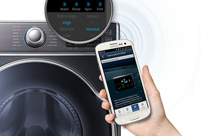 Use Smart Care on Your Samsung Washer and Dryer