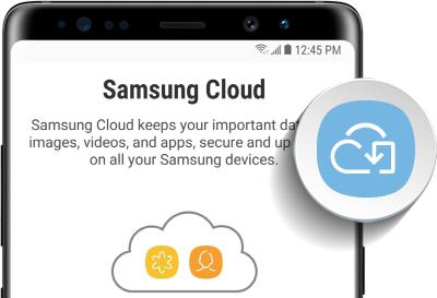 Samsung S9 cloud