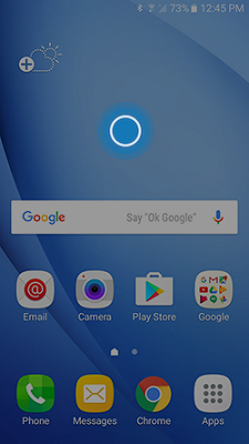 galaxy j3 how do i change the home screen and lock screen on my