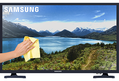 how to clean tv screen samsung