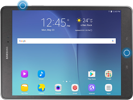 Screenshot Samsung Tablet