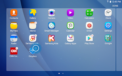 how to close app tabs galaxy 7