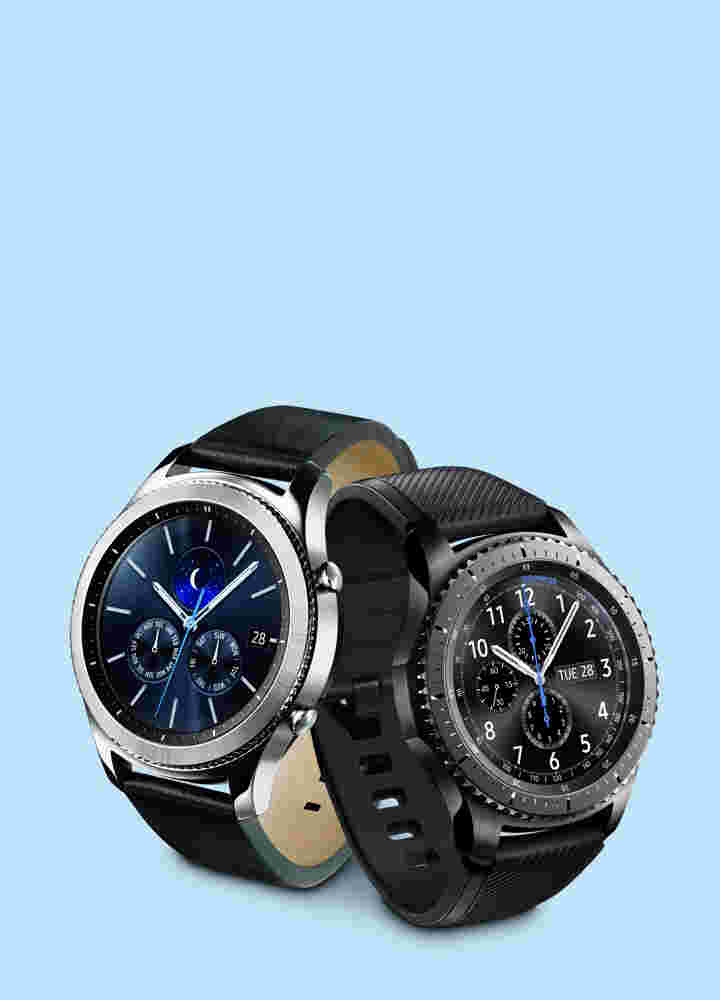 Get $70 instant savings on the Gear S3 frontier or classic.