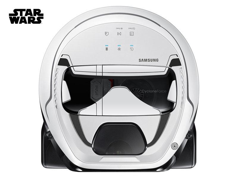 POWERbot™ Star Wars Stormtrooper Robot Vacuum: VR1AM7010U5 | Samsung US