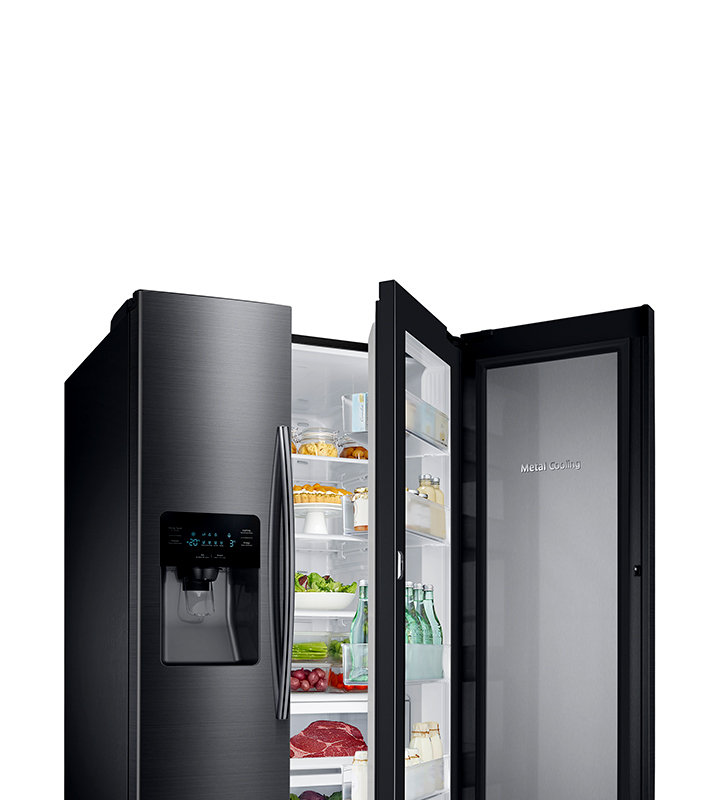 Samsung Side By Side Refrigerators Counter Depth French Door