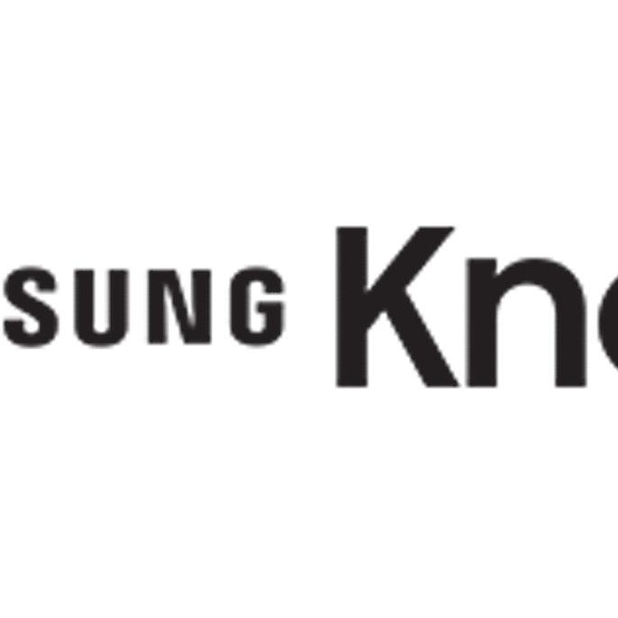 samsung logo black and white. samsung knox defense-grade, hardware-anchored mobile security logo black and white