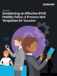 Byod mobility policy white paper samsung business establishing an effective byod mobility policy a process and templates for success maxwellsz
