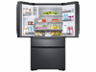 "Thumbnail image of 23 cu ft. Capacity Counter Depth 4-Door French Door 36"" Freestanding Chef Collection Refrigerator"