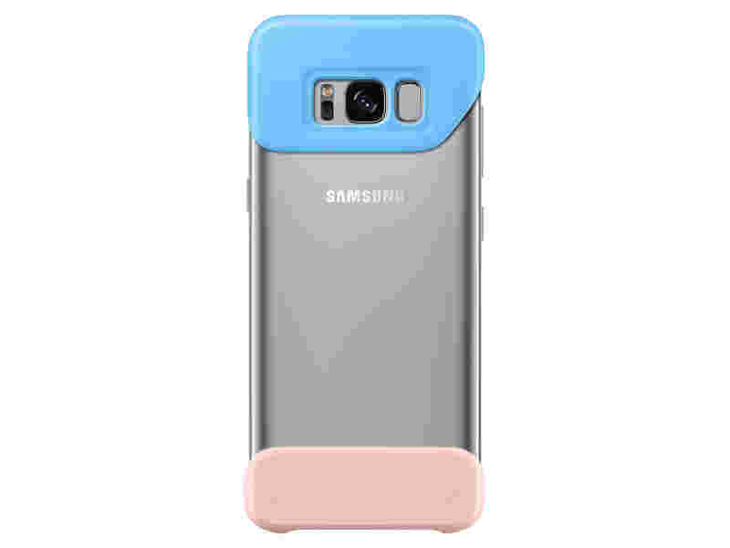 Galaxy S8 Two Piece Cover, Blue/Pink