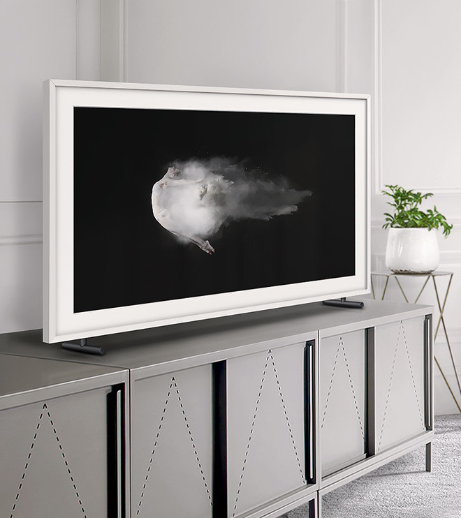 samsung the frame tv display custom art fully customizable art frame. Black Bedroom Furniture Sets. Home Design Ideas