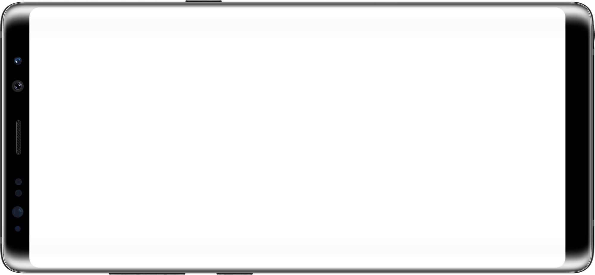 samsung phone png. galaxy note8 in landscape mode samsung phone png u