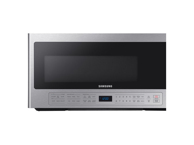 2 1 Cu Ft Over The Range Microwave With Ceramic Enamel Interior