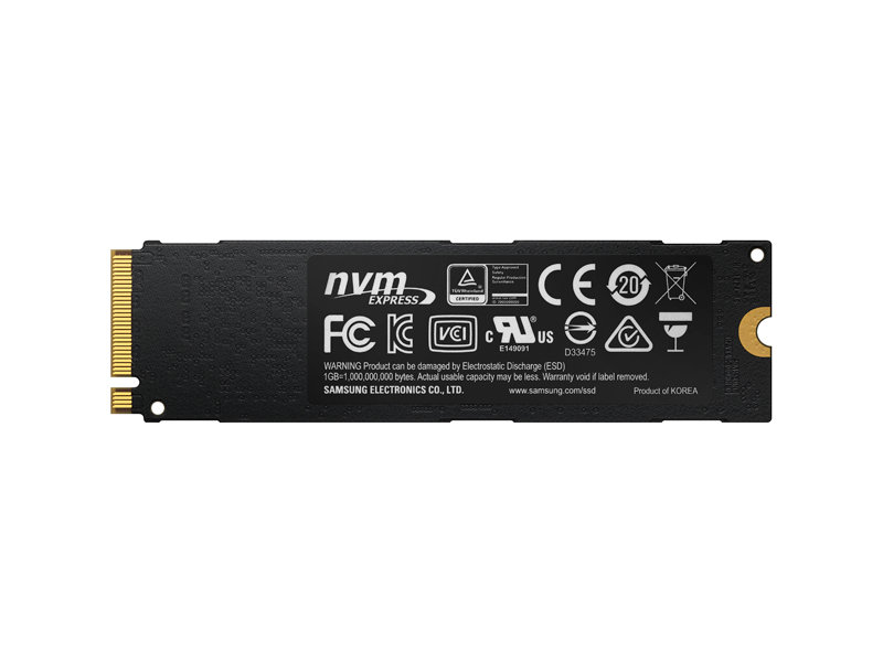 SSD 960 EVO NVMe M.2 250GB