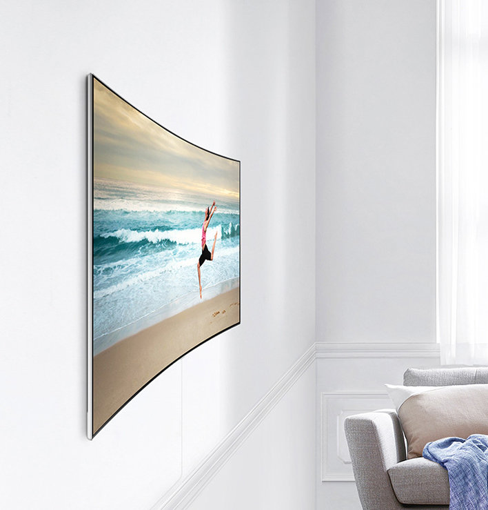 samsung curved tv wall mount. beautifully closing the gap samsung curved tv wall mount t