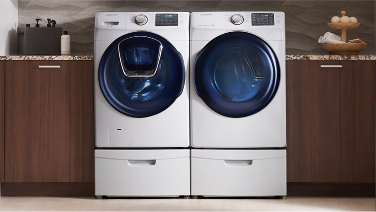 rsi ctt LifestyleFrontLoadLaundry 1440 Dryers 063016?$feature benefit bottom mobile jpg$ samsung dryers gas & electric dryers samsung us  at reclaimingppi.co