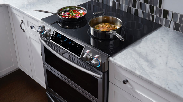 Oven Ranges: Gas, Electric & Dual Fuel Stoves | Samsung US
