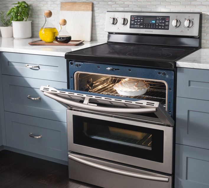Samsung Ranges: Gas, Electric & Dual Fuel Stoves | Samsung US
