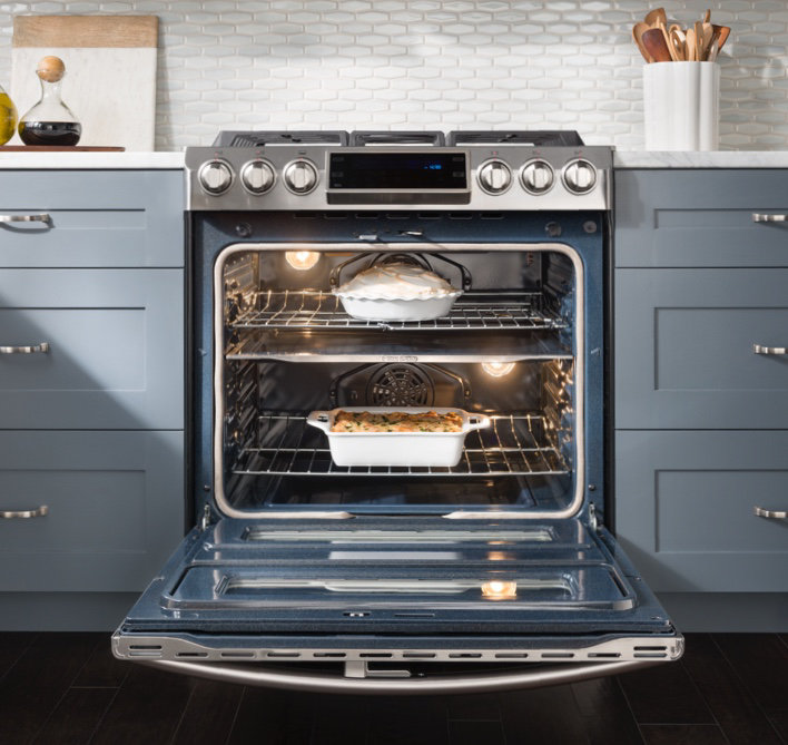 two ovens in one - Kitchen Stove