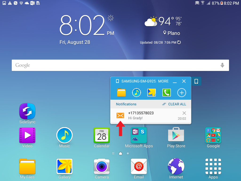 How Do I Make And Answer Calls And Text Messages From My Tablet
