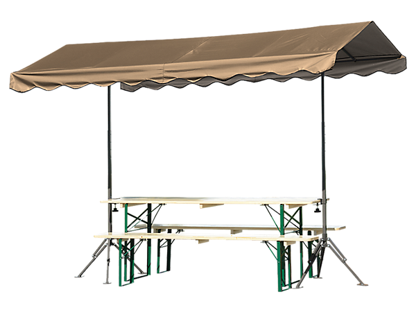 Quick Clamp Outdoor Shade Canopy