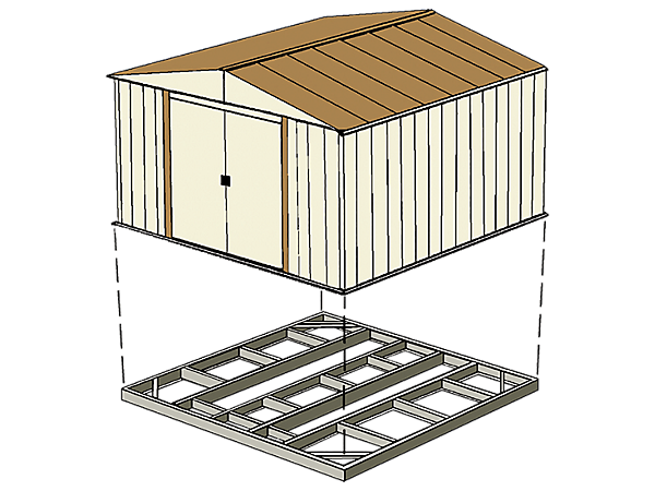 Best Practices: Foundation & Anchoring | Arrow Storage Products on concrete anchors for swimming pool, concrete anchors for mobile homes, concrete anchors for railings, concrete anchors for tents,