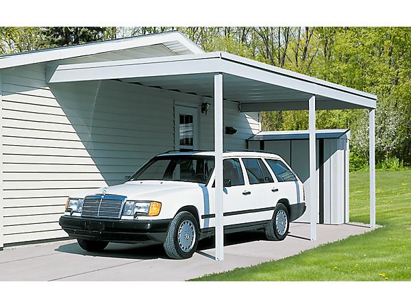 Attached Patio Cover Carport 10x20