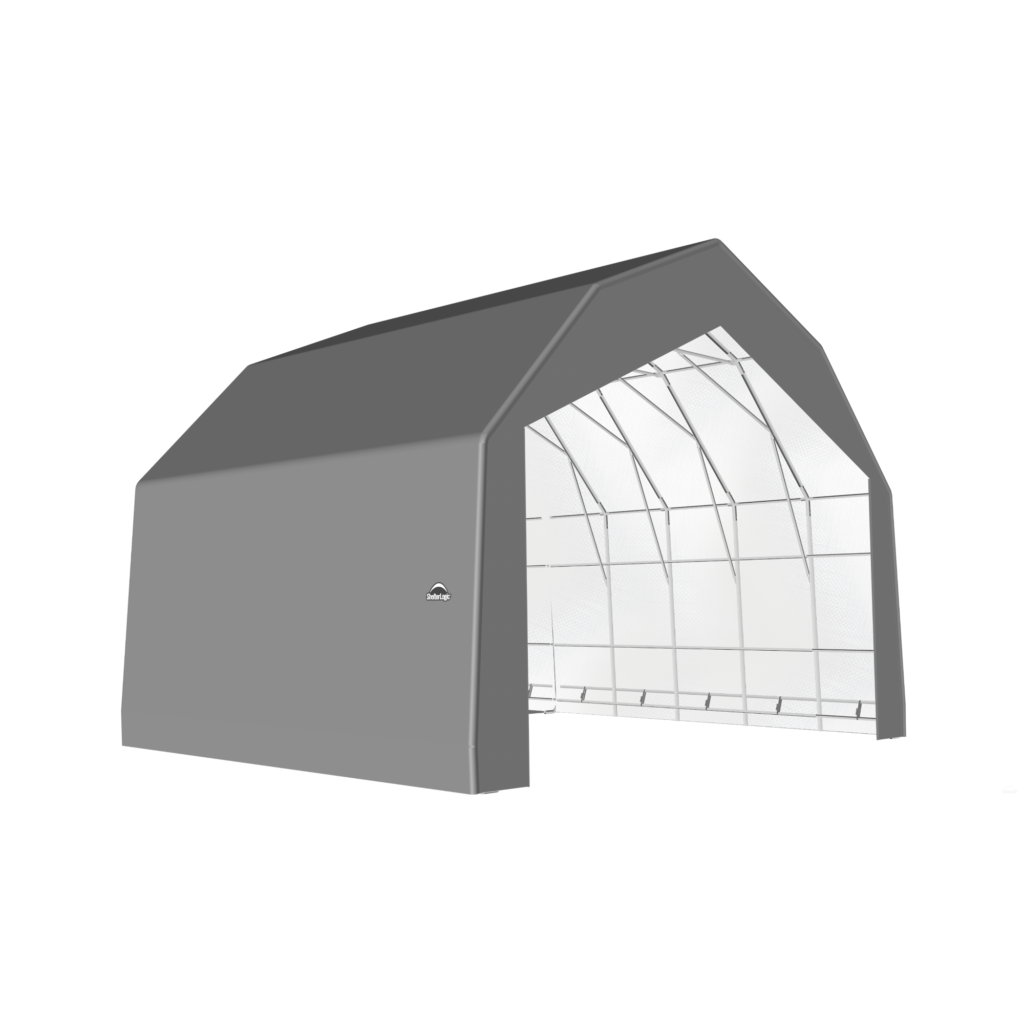SP Barn 30X28X21 Gray 14 oz PE Shelter