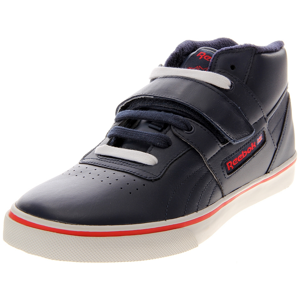 39d9b30b9b7df4 Reebok Workout Mid Strap J09874 Athletic Inspired Shoes on PopScreen