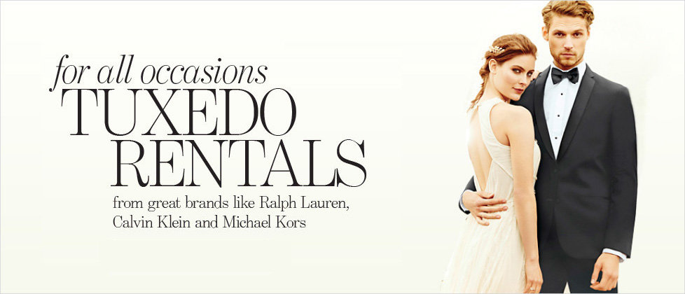 Tuxedo Rentals for all occassions